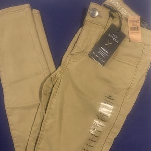 Khaki American eagle pants